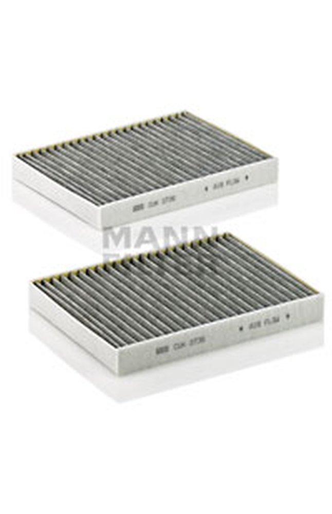 4 cuk 2736 2 filtro aria abitacolo mann filter for Filtro aria abitacolo camry