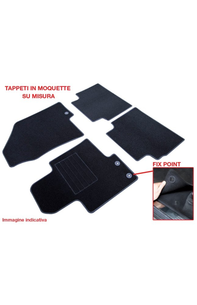 9998 000131711 jeep cherokee 14 tappeti auto in moquet co for Moquette jeep wrangler yj